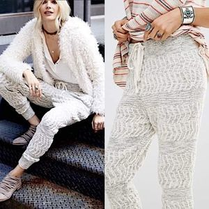 Free People Roadtrip Harem Knit Jogger Pants